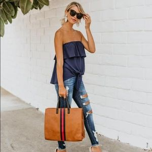 Bags - ROYCE TOTE BAG - TAN